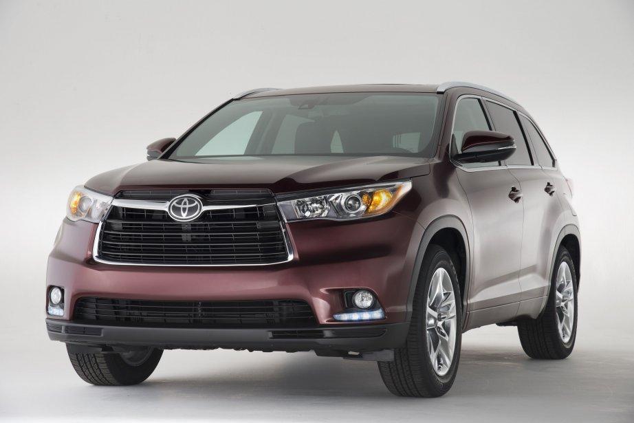 Le Toyota Highlander de dernière génération... (Photo fournie par Toyota)