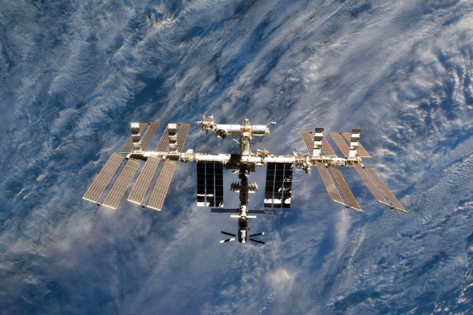 LaStation spatiale internationale (ISS).... (PHOTO FOURNIE PAR LA NASA)