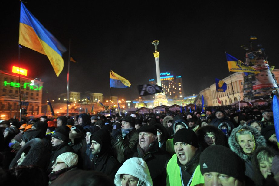 Les manifestants interrogés par l'AFP ne cachaient pour... (PHOTO GENYA SAVILOV, AFP)