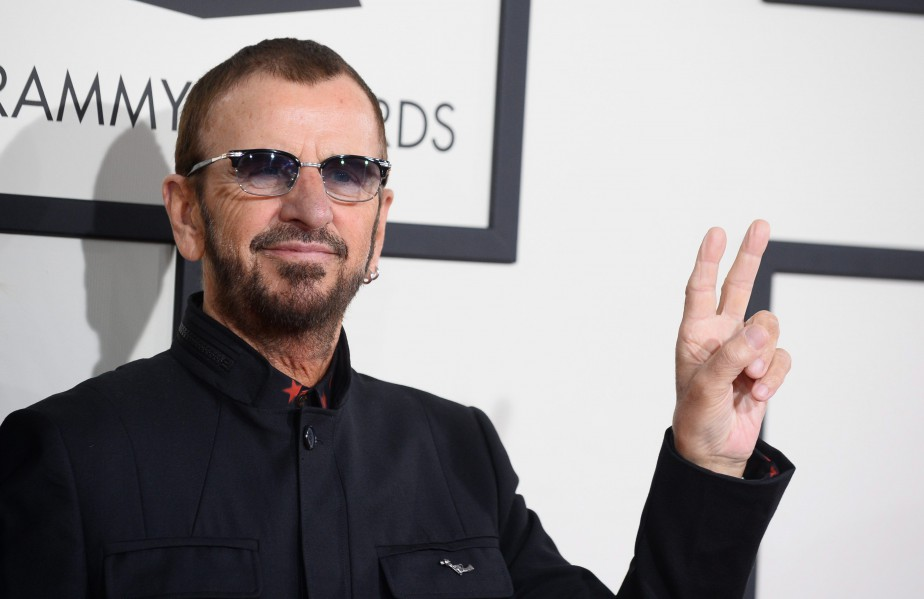 Ringo Starr... (Photo: archives AP)