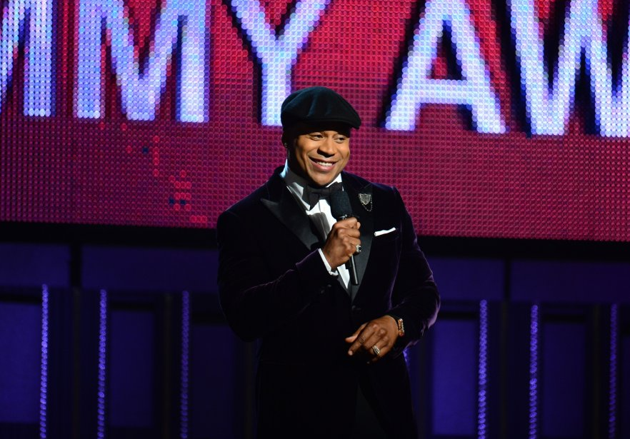 LL Cool J anime le gala qui se tient au Staples Center de Los Angeles. | 26 janvier 2014