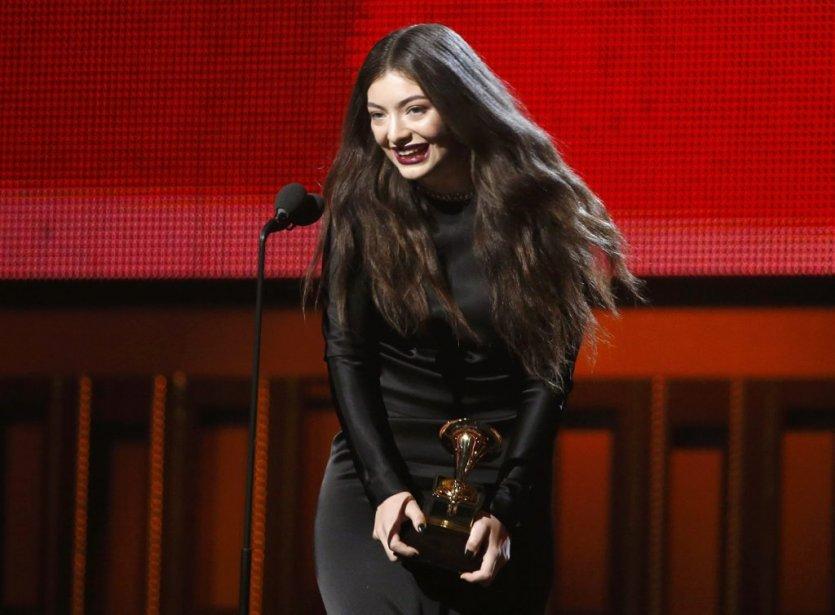 «Royals» de la Néo-zélandaise Lorde a été sacré chanson de l'année. (AP)