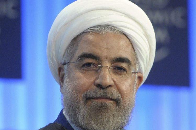 Le président iranien Hassan Rohani.... (PHOTO ERIC PIERMONT, AFP)