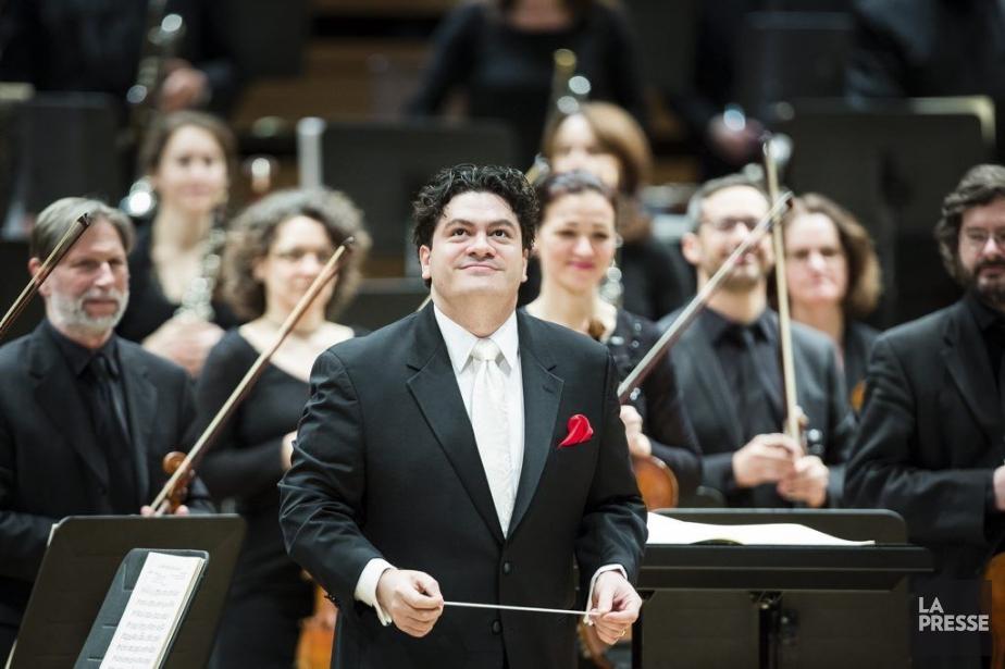 Le chef d'orchestre roumain Cristian Macelarule a remplacé... (Photo: Édouard Plante-Fréchette, La Presse)
