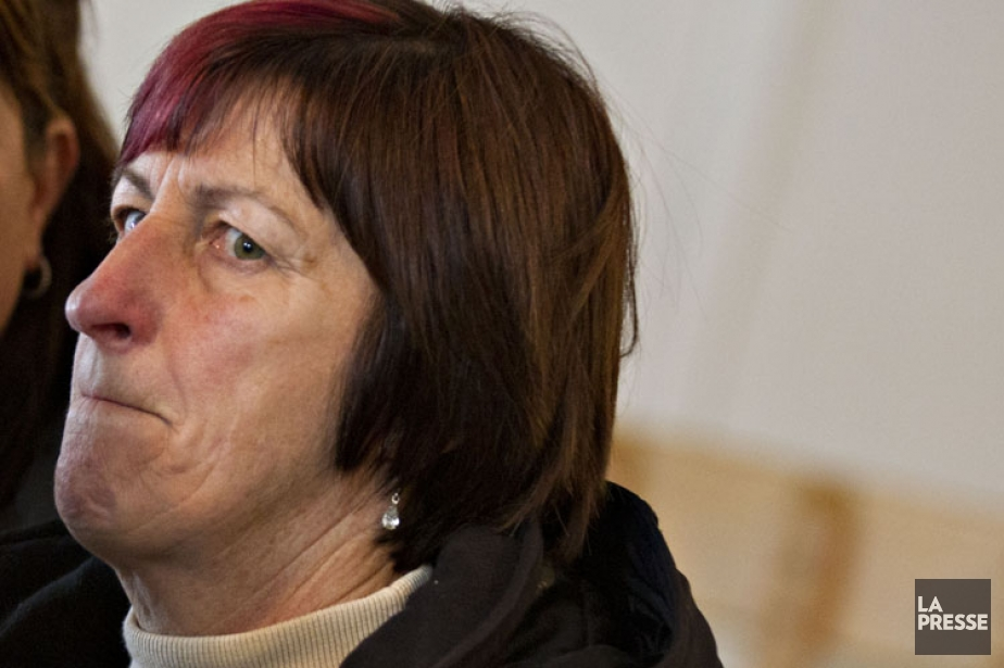 La mairesse de L'Isle-Verte, Ursule Thériault.... (Photo: Olivier Jean, La Presse)