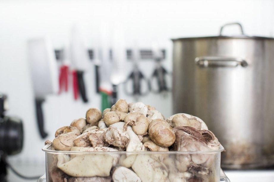 L'idée d'une panse de mouton remplie de coeurs, de langues et de foies bouillis puis hachés n'est peut-être pas la plus ragoûtante, mais vous pourriez être surpris! (Photo Édouard Plante-Fréchette, La Presse)