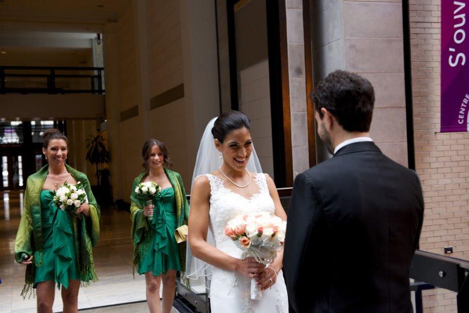 Avec un budget de 32000$,Tanya et Philippe ont accueilli 150invités à leur mariage. (Photo Jacques Fortin,fournie par les mariés)