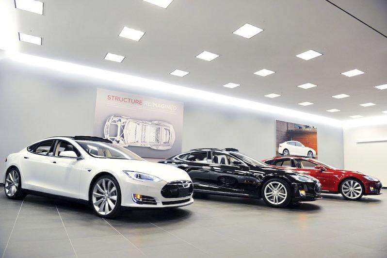 Le concept de représentation de Tesla repose sur... (PHOTO FOURNIE PAR TESLA MOTORS)