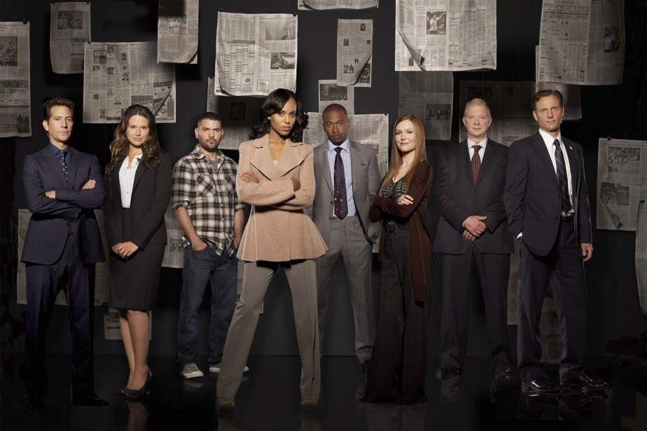 Scandal, l'une de ces séries susceptibles de déclencher... (Photo: fournie par ABC)