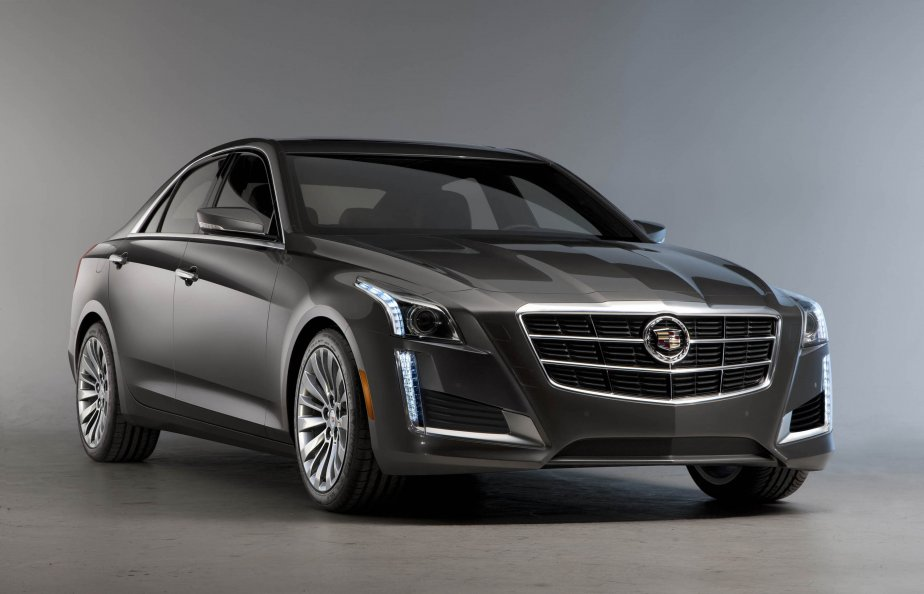 Cadillac CTS 2014 (Photo fournie par GM)