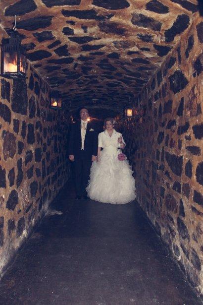 Aurore a acheté une robe recyclée chez Atelier Lucie St-Georges, une boutique qui récupère de très belles robes de mariage et de bal. (PhotoVicky Photographie, fournie par les mariés)