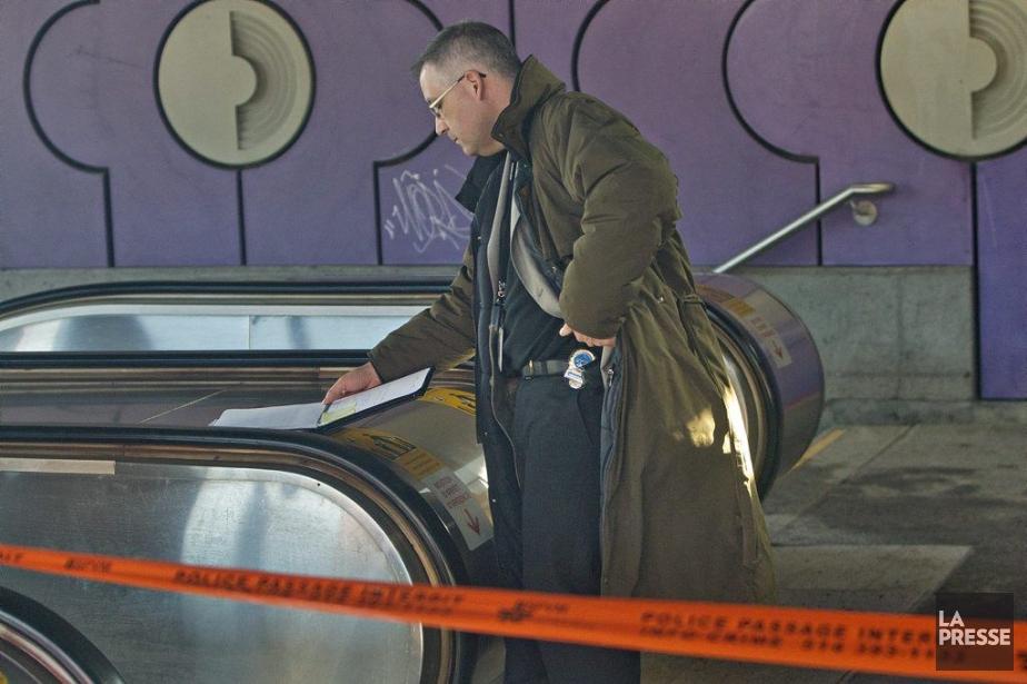 Le coroner a ouvert une enquête.... (PHOTO PATRICK SANFAÇON, LA PRESSE)