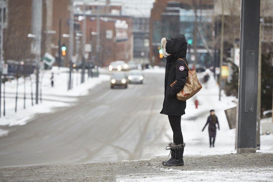 La température moyenne s'est fixée à Montréalà moins... (PHOTO ULYSSE LEMERISE, COLLABORATION SPÉCIALE)