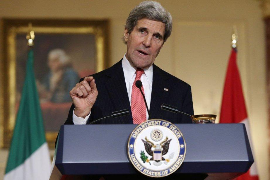 Le secrétaire d'État américain, John Kerry.... (ARCHIVES, Reuters)