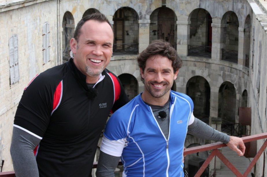 Dave Morissette et Guillaume Lemay-Thivierge sont les deux... (Photo: fournie par TVA)