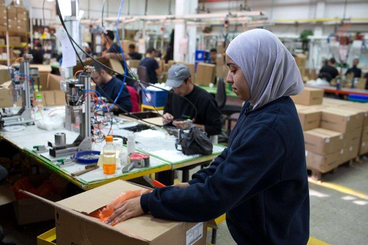 L'entreprise israélienne SodaStream, implantée en territoire palestinien occupé,... (Photo: AFP)