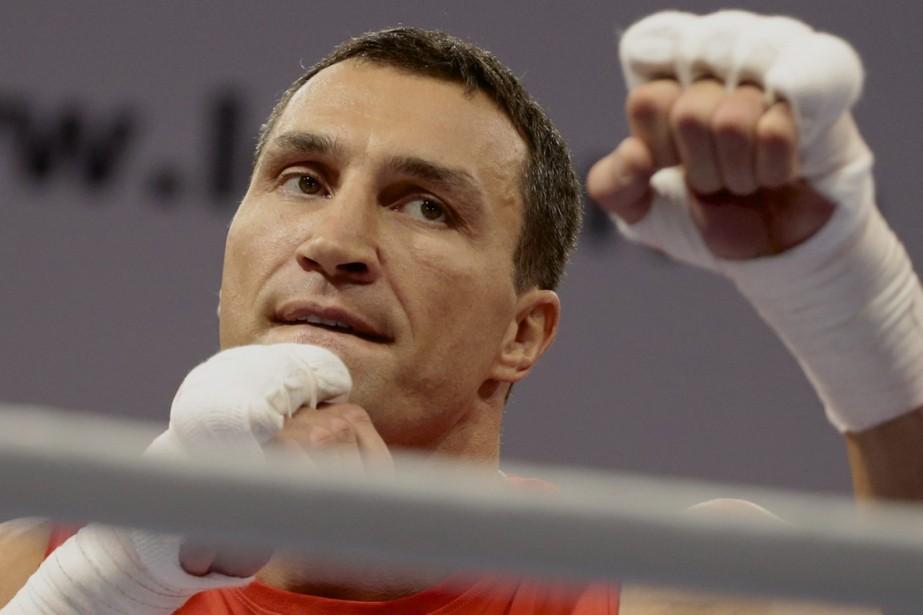 Wladimir Klitschko... (Photo Ivan Sekretarev, AP)