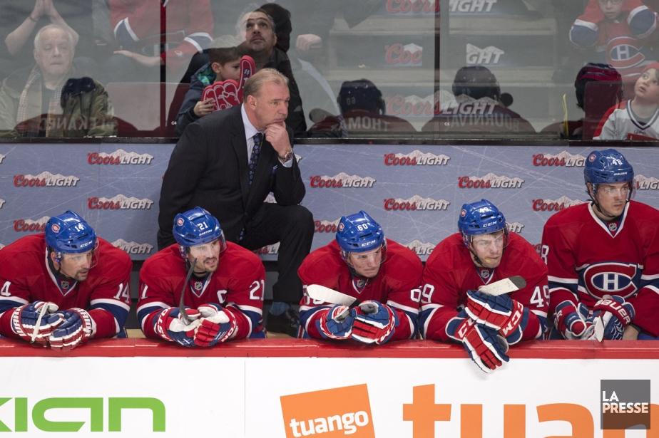 Le Canadien n'a marqué que deux buts au... (Photo Robert Skinner, La Presse)