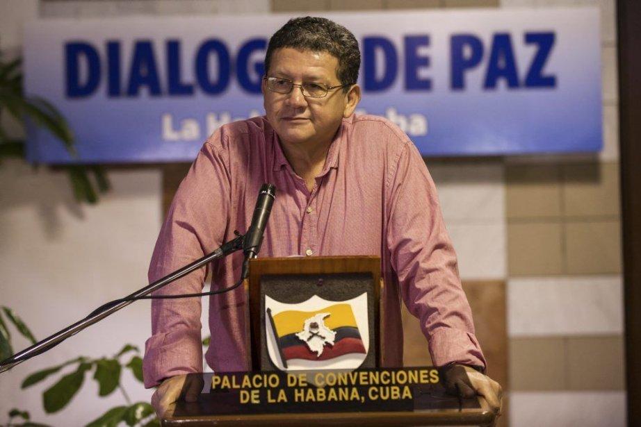 Le commandant des FARC Pablo Catatumbo.... (Photo Yamil Lage, Agence France-Presse)
