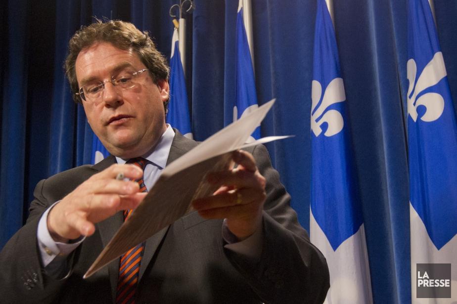 Le ministre des Institutions démocratiques et instigateur du... (PHOTO IVANOH DEMERS, ARCHIVES LA PRESSE)