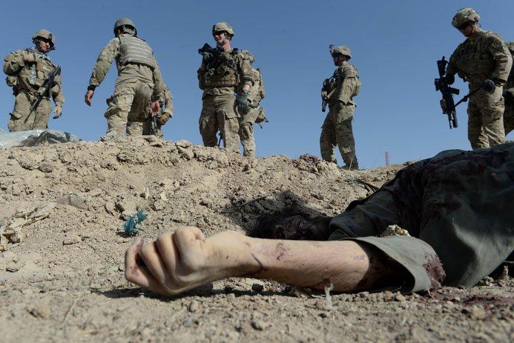 Les États-Unis ont toujours 34 000 hommes en... (Photo: AFP)