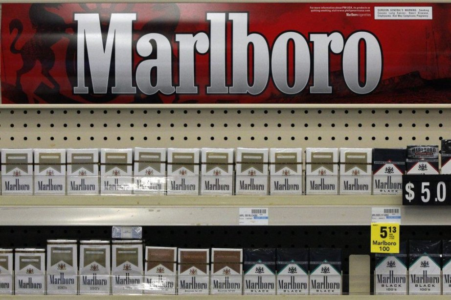 Des cigarettes Marlboro vendues dans un CVS de... (Photo AP)