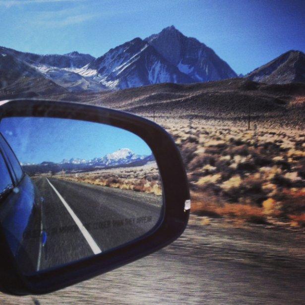 «Avec ma GoPro, j'aime prendre beaucoup de photos d'action. Ici, je joue sur les rails à Mammoth Mountain.» ()