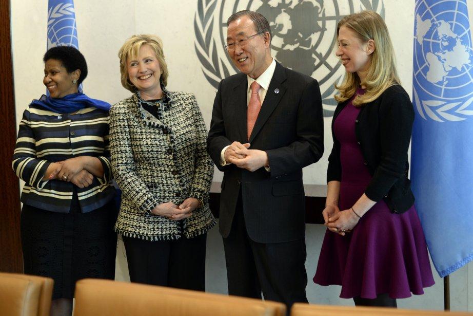 Le secrétaire général de l'ONU Ban Ki-moon a... (Photo Timothy Clary, AFP)