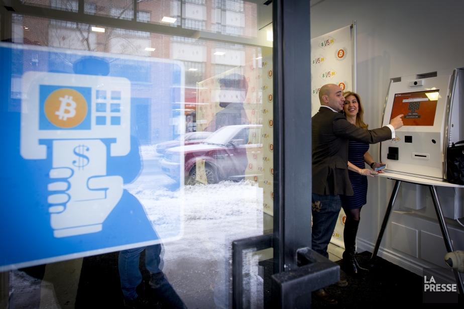 Lancement d'un nouveau service destiné à l'économie Bitcoin... (Photo Alain Roberge, La Presse)