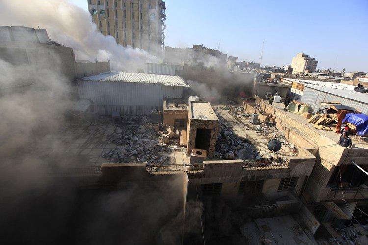 Mercredi, une nouvelle série d'attentats, dont trois aux... (Photo: Reuters)
