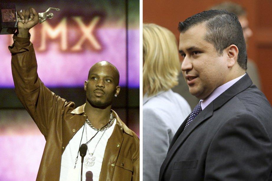 Le rappeur DMX (à gauche) affrontera-t-il George Zimmerman... (PHOTOS REUTERS)