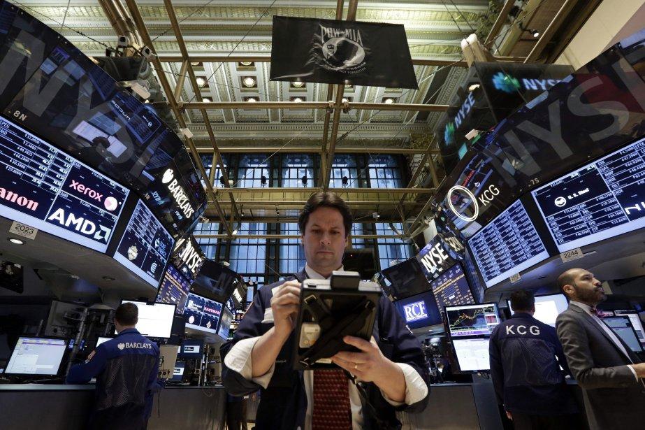 Le renversement de tendance réconfortait les investisseurs à... (Photo AP)
