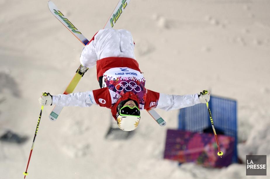 Chloé Dufour-Lapointe a terminé au deuxième rang des... (Photo Bernard Brault, La Presse)