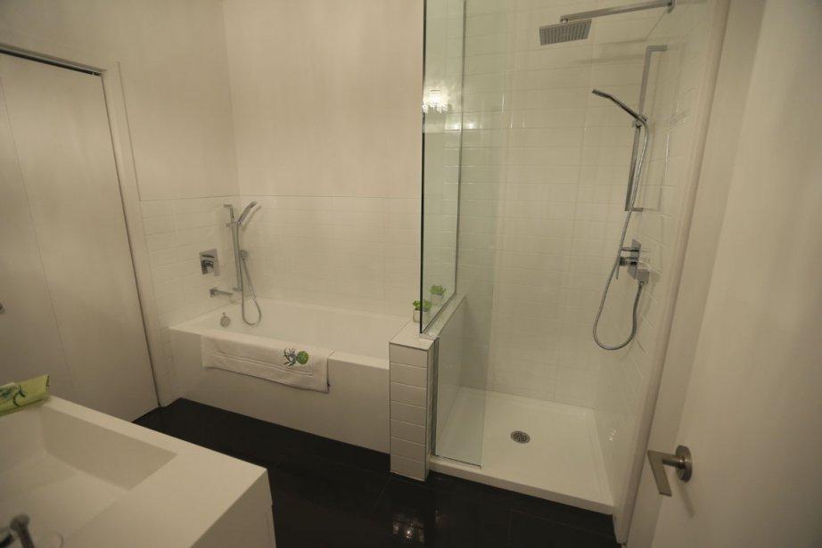 Du neuf derri re d 39 anciennes fa ades danielle bonneau for Accessoires salle bain haut gamme