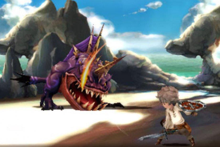Bravely Default n'a reçu que des louanges et... (Photo fournie par Nintendo)