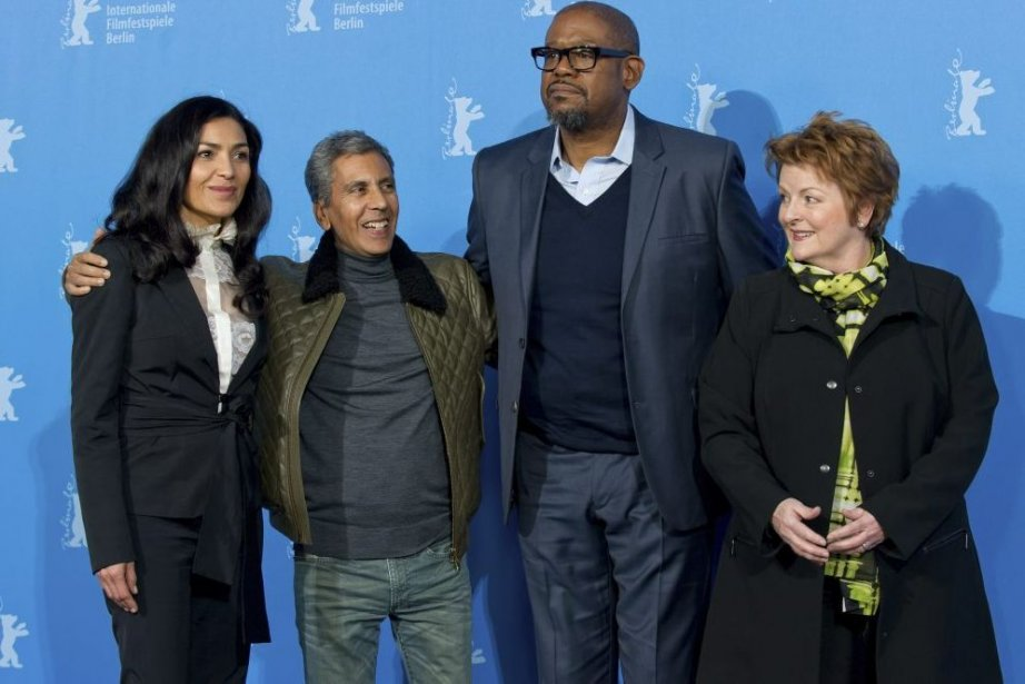 Dolores Heredia, le réalisateur Rachid Bouchareb, Forest Whitaker... (Photo: AP)