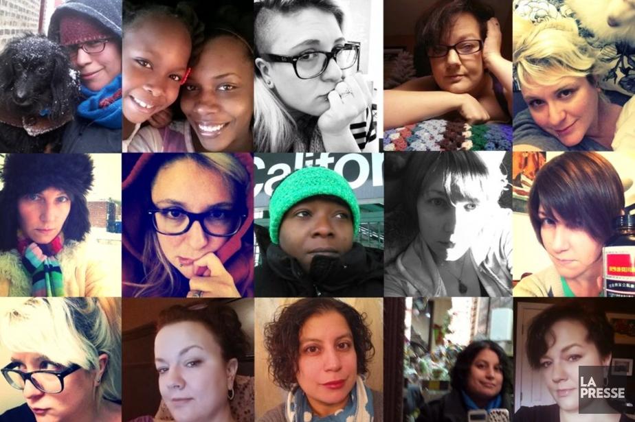Le selfie, féministe ou non? Le débat reste... (Photos fournies par Veronica Arreola, Photomontage La Presse)
