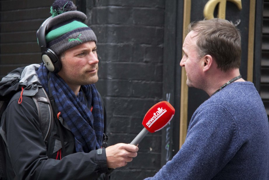 Le reporter Henry McKean... (Photo Cynthia Noury/URBANIA)