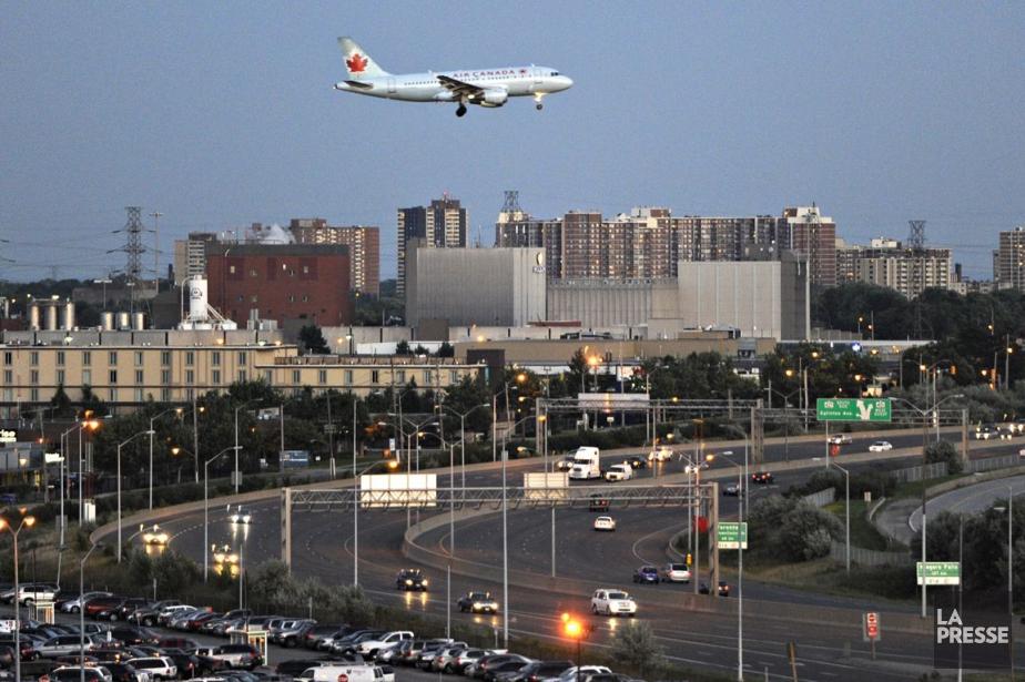L'aéroport Pearson de Toronto.... (Photo: Bernard Brault, archives La Presse)