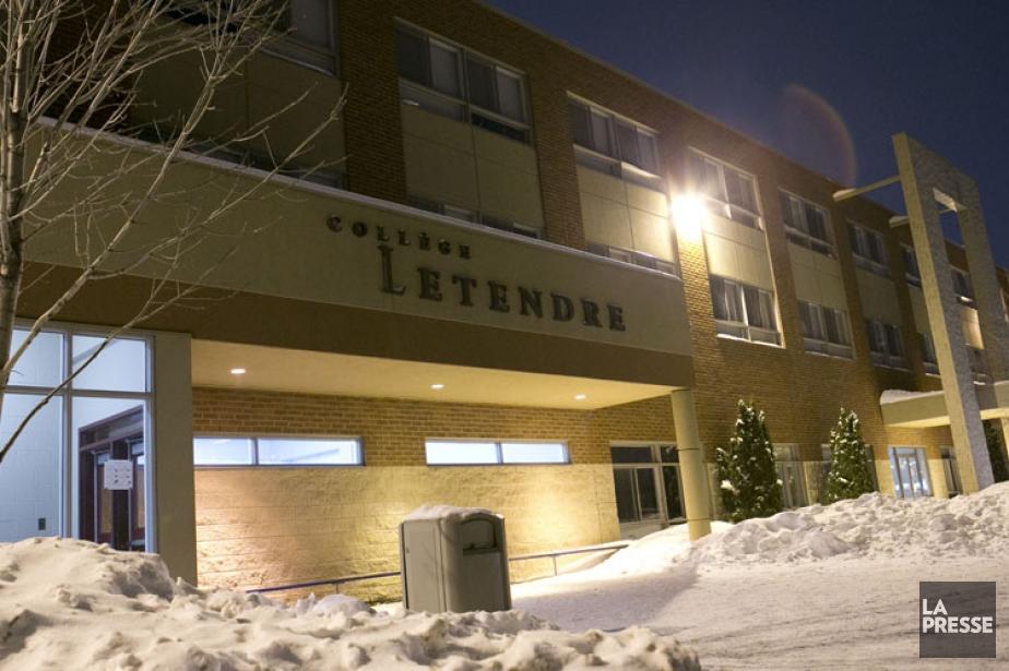 Le collège Letendre de Laval.... (Photo: Hugo-Sébastien Aubert, La Presse)