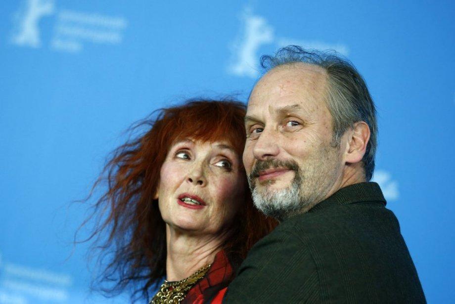 Sabine Azéma et Hippolyte Girardot, acteurs de «Aimer, boire et chanter» d'Alain Resnais. (Photo: Reuters)