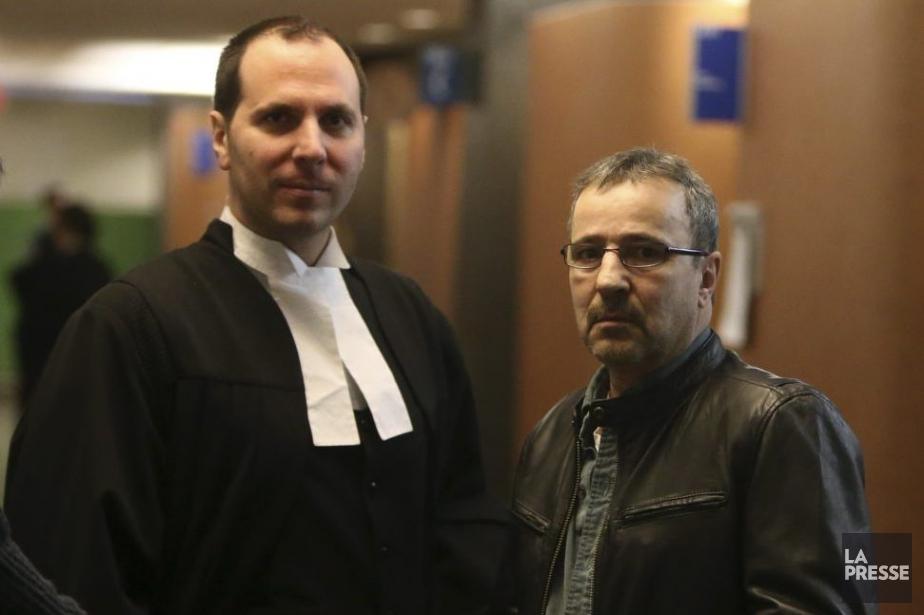 John Beshara et son avocat George Calaritis.... (Photo Martin Chamberland, La Presse)