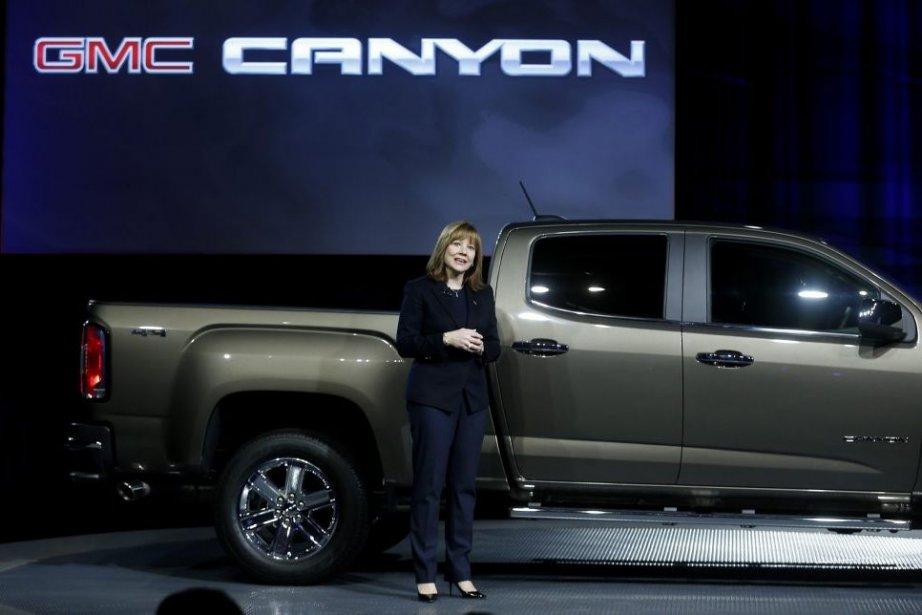 Première femme à diriger un grand constructeur automobile,... (PHOTO REBECCA COOK, REUTERS)