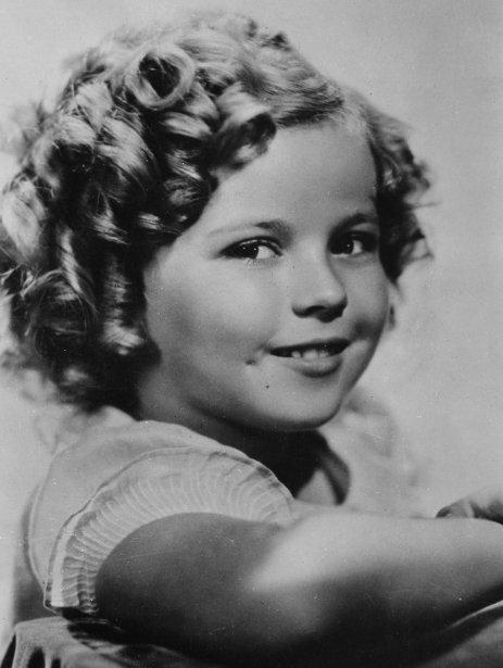 Shirley Temple à l'âge de 8 ans. (Photo: archives AP)