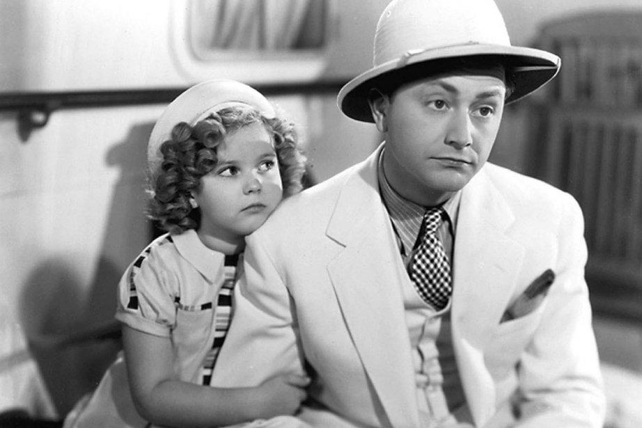 Shirley Temple et Robert Young dans une scène du film «Stowaway» (1936). (Photo: archives AFP)