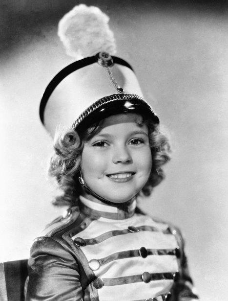 Shirley Temple dans une scène de «Poor Little Rich Girl» (1936). (Photo: archives AP)