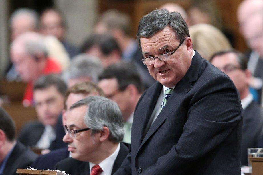 Le ministre des Finances, Jim Flaherty... (Photo FRED CHARTRAND, PC)