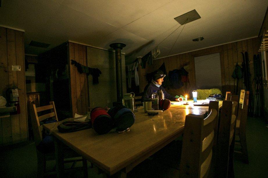 Simplicité et confort vont de pair dans les refuges du parc national de la Gaspésie. (Photo Hugo-Sébastien Aubert, La Presse)