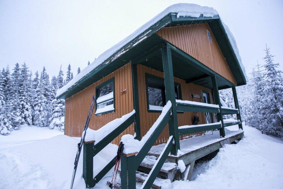 Le refuge La Paruline est à 650 mètres d'altitude. (Photo Hugo-Sébastien Aubert, La Presse)
