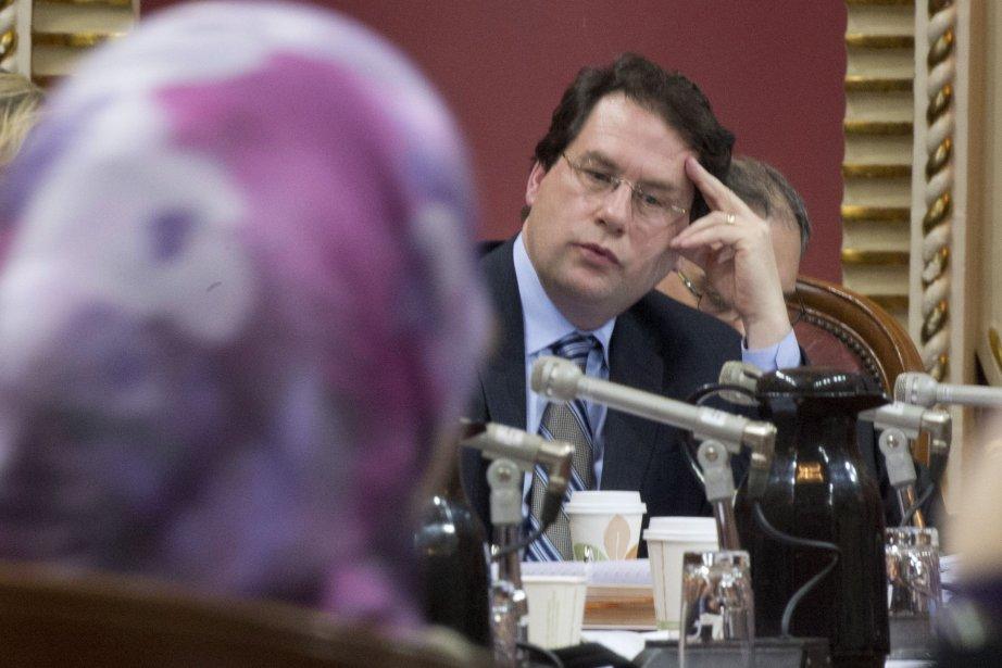 Le ministre Bernard Drainville, instigateur du projet de... (Archives La Presse Canadienne)